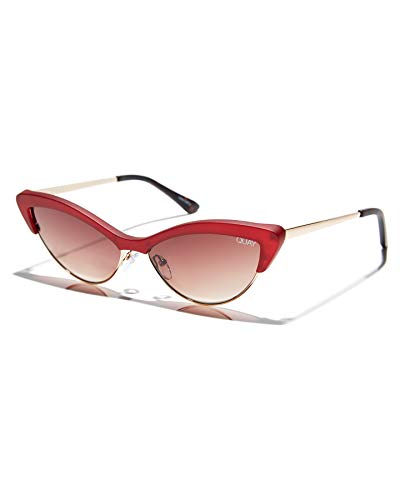 QUAY AUSTRALIA All Night Red/Brown One Size