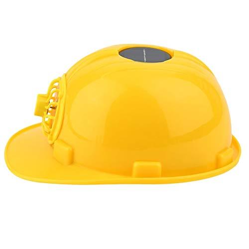 Outdoor Solar Energy veiligheidshelm, hard geventileerde hoed pet koeling ventilator