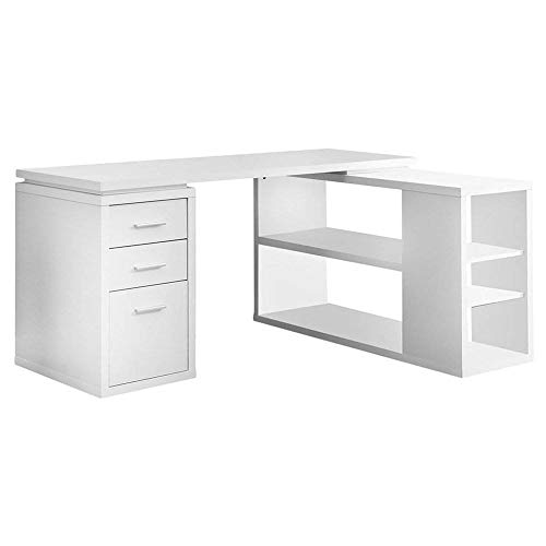 Monarch Specialties Hollow-Core Corner Desk