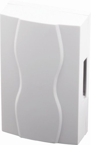 SCS SEN4137404 Carillon filaire électromécanique par pile/transformateur Blanc