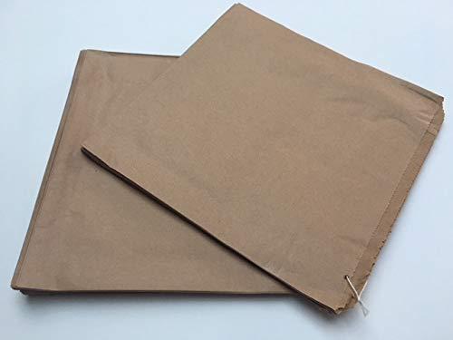 100 Kraft Brown Paper Bags 10 x 10 - Strung by Bag It Plastics ...