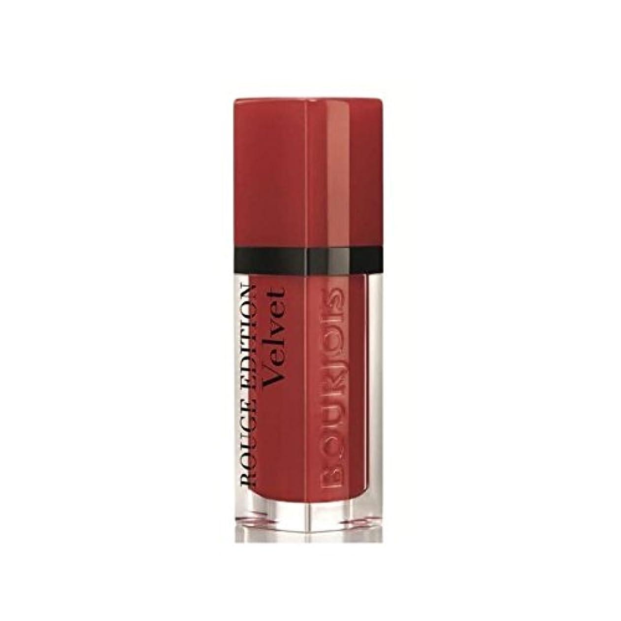 細い死傷者バイオリンブルジョワルージュ版ベルベットの口紅ねルージュ1 x4 - Bourjois Rouge Edition Velvet lipstick Personne Ne Rouge 1 (Pack of 4) [並行輸入品]