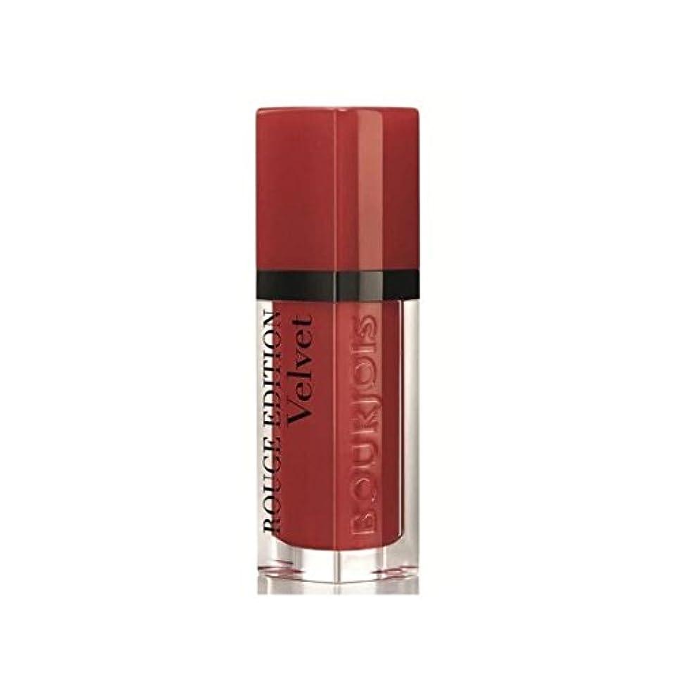 非アクティブコーチ受け皿Bourjois Rouge Edition Velvet lipstick Personne Ne Rouge 1 (Pack of 6) - ブルジョワルージュ版ベルベットの口紅ねルージュ1 x6 [並行輸入品]