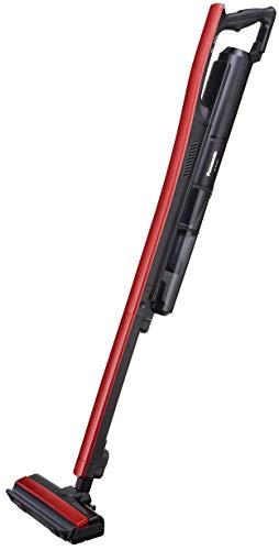 パナソニックコードレス掃除機スティッククリーナー充電式イットレッドブラックMC-BU500J-R