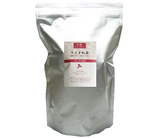 【中国茶】お徳用!ライチ紅茶 500g