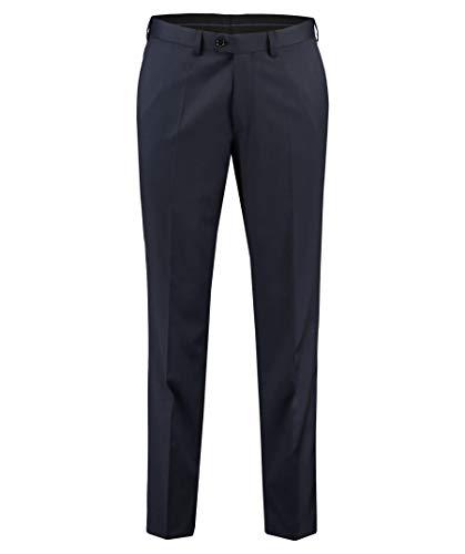 EDUARD DRESSLER Herren Anzughose Shaped Fit blau (296) 27