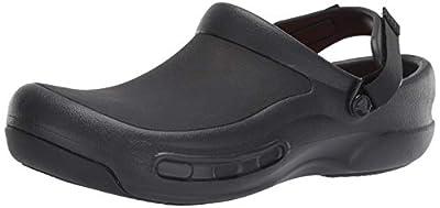 Crocs Bistro Pro LiteRide Clog, black, 7 US Women / 5 US Men