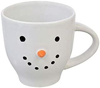 Adorable Festive Holiday Snowman Stoneware Mug 20 oz.