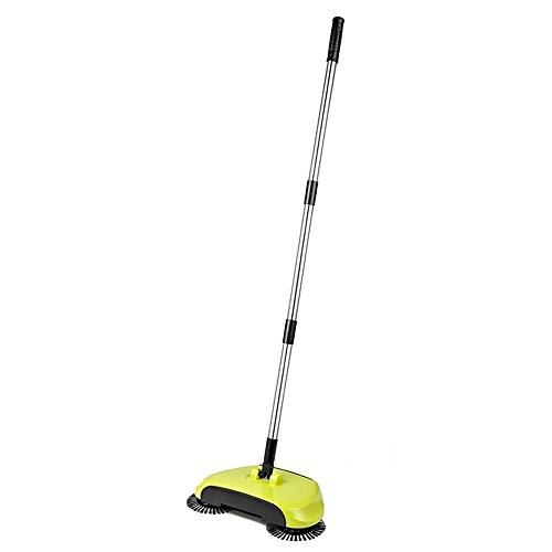 JZUKU Limpiador de vacío de Mano Limpiador De Empuje Manual Sweeper Hogar De Tres Velocidades Ajustables Escoba Multifuncional En Las Tres-en-uno Cleaner