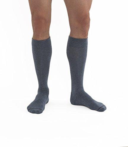 JOBST Activewear 30-40 mmHg - Calcetines de compresión, 7541204, M, azul Denim, 1
