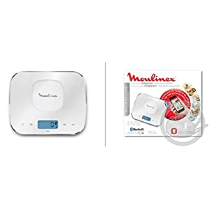 Moulinex Báscula Alimentos Bluetooth 2018Cuisine Companion Cuco HF800HF900