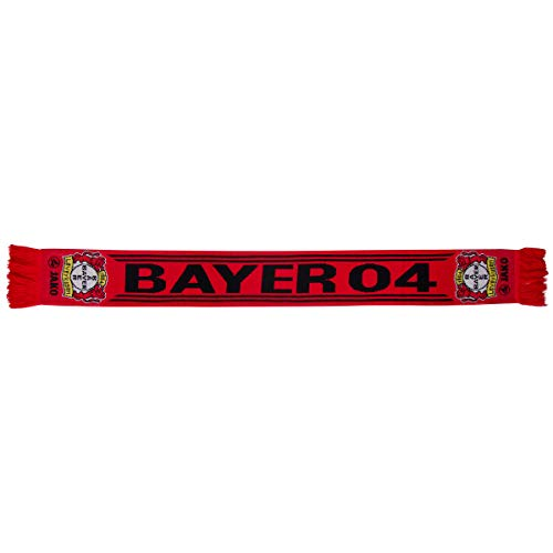 JAKO Bayer 04 Leverkusen Fan-schal, rot, 0 (one Size)