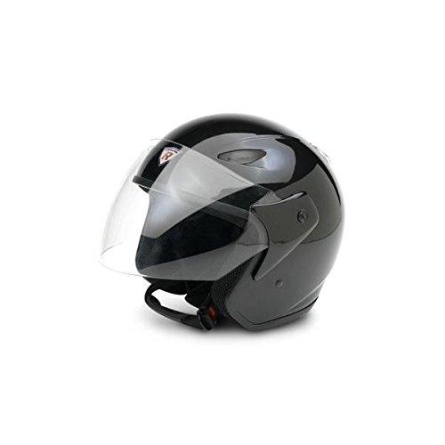 Bottari Motorradhelm Explorer, Metal Black, Größe L