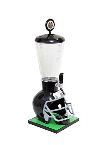 Beer Tubes Black Football Helmet Beverage Tower...