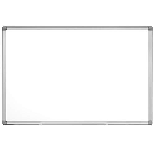 Magnetic Whiteboard / White Board, 36 X 24 Inches Magnetic Dry Erase Board, Silver Aluminum Frame with Detachable Marker Tray