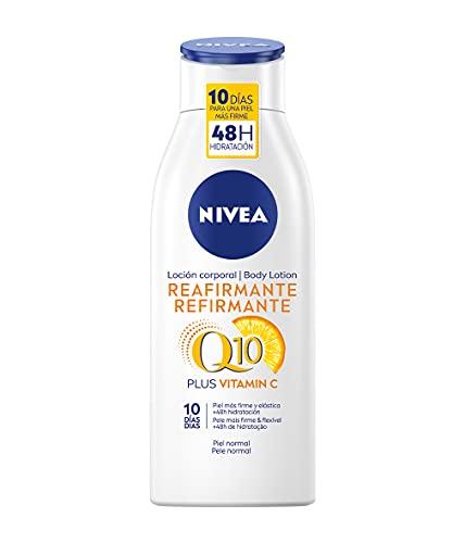 Nivea Q10 Body Loción Reafirmante con Vitamina C, Piel Normal, 400ml