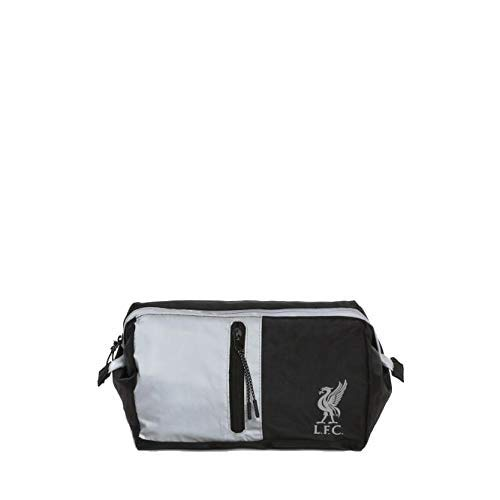 Liverpool FC Black/Silver Washbag LFC Official