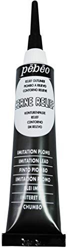 PEBEO - Tubo da 20 ml di Crema Effetto Piombo, per vetrate Colorate