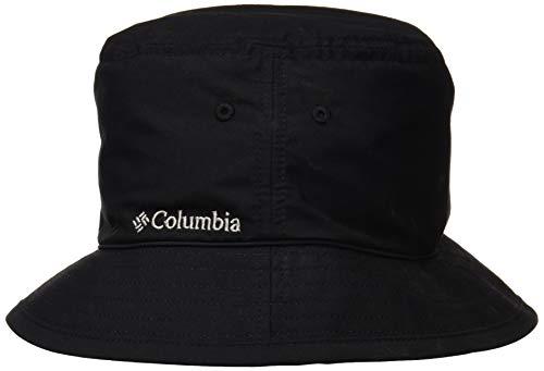 Columbia Pine Mountain Bucket Hat Sonnenhut, Schwarz (Black, Solid), S/M