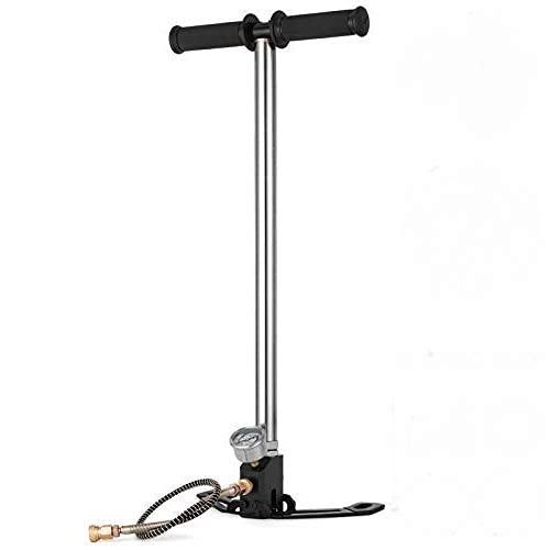 OldFe 3-stufig Hochdruckluftpumpe 3,00 kg Dreistufige Hochdruckpumpe 4500 psi Wassergekühlte manuelle Luftpumpe