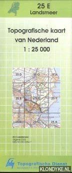 Topografische kaart van Nederland 1:25000: Landsmeer 25-E