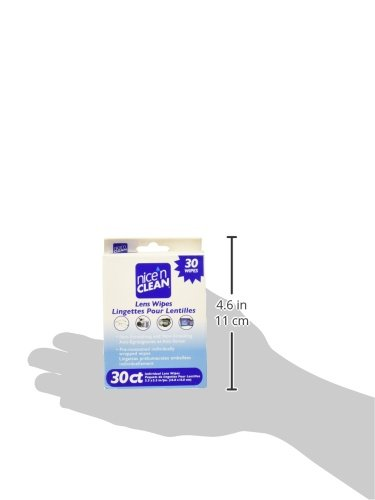 Antibacterial Hand Wipes Nice 'n Clean Lens Cleaning Wipes (360 Total Wipes) | Pre-Moistened