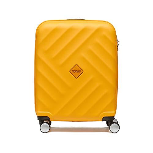 アメリカンツーリスター サムソナイト スーツケース Samsonite (GRAVITY・グラビティ・AN8*005) 55cm (Sサイズ)(キャリーバッグ) (イエロー)