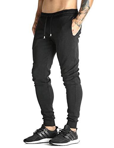 COOFANDY Herren Hose Jogginghose Lang Trainingshose Fitnesshose Baumwolle Sweatpants Sport Streetwear Hose