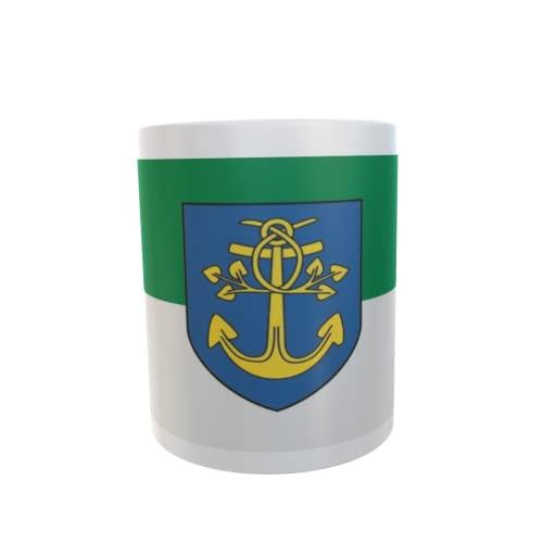 U24 Tasse Kaffeebecher Mug Cup Flagge Lengerich