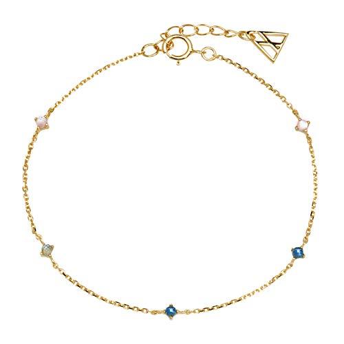 Armband P D PAOLA PU01-054-U NAVI Frau Silber