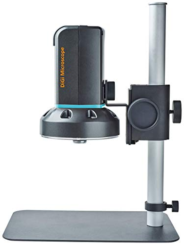 ViTiny UM20 HDMI/USB Digital Autofocus Microscope with Long Working Distance for TV Monitor and Windows PC and Mac with Magnification 10x to 500x