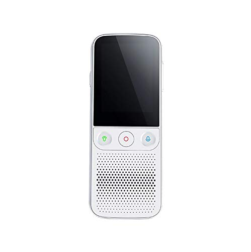 pinzheng Mini Smart Voice Translator Portable Instant Translation,HD Touch Screen 138 Languages Translator Device Support WiFi Multifunctional One-Click Operation