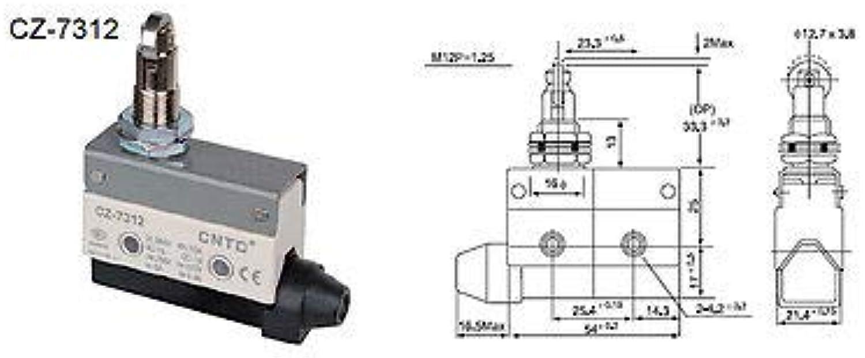 5Pcs Micro Switch Limit SWITCHES CNTD TZ-7312 CZ-7312