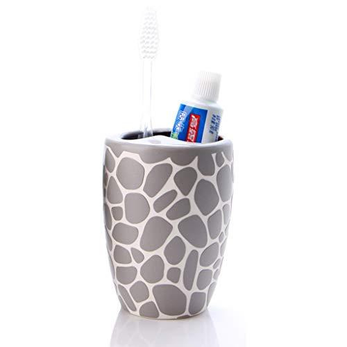 Tandenborstelhouder Keramische tandpasta Matkeramiek Voel je goed Creatief