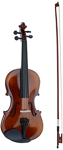 Violino Acústico 4/4 Arco Breu Cavalete Mdf Estojo Luxo