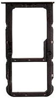 قطعة غيار حامل الشريحة من قطعة غيار أسود من ريفيكسيت REFIXIT صينية شريحة تثبيت سوداء متوافقة مع هواوي HONOR 7X
