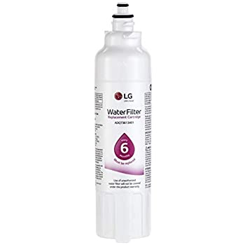 LG LT800P- 6 Month / 200 Gallon Capacity Replacement Refrigerator Water Filter  NSF42 and NSF53  ADQ73613401 ADQ73613408 or ADQ75795104  White