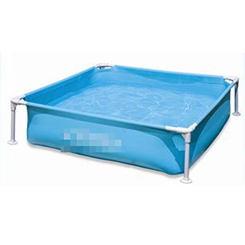 HDJX - Soporte para piscina, estanques de peces y estanques de pesca, 122 cm x 122 cm x 30 cm