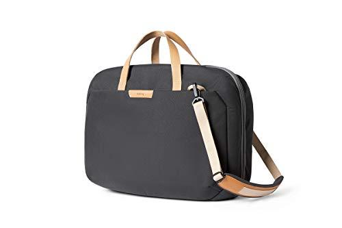 """Bellroy Flight Bag (16"""" Laptop, Clamshell-Design, versteckbare Rucksackgurte, durchdachte Innenfächer) - Charcoal"""