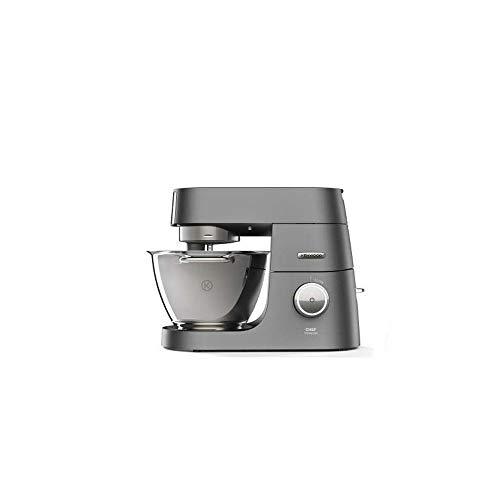 Kenwood Chef Titanium 1500W 4.6L Plata - Robot de cocina (4,6 L, Plata, Giratorio, Acero inoxidable, Aluminio, 1500 W)
