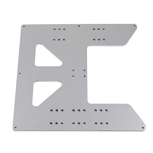 P Prettyia Placca a Y in alluminio per stampante 3D Prusai3 Anet A6 A8