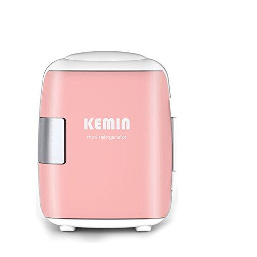 Haizh Mini-koelkast, 8 liter, mini-koelkast, kleine startpagina, single deur, refrigeration, mini-studentenhuis, inclusief stekker voor home outlet & 12V auto-oplader