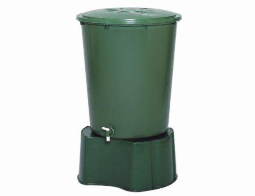 Regentonne-Unterstand für Tonnen bis 510l, Kst.grün, Höhe: 33 cm