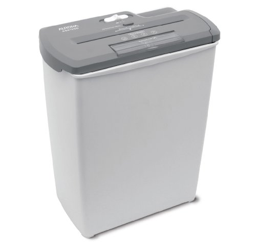 Aurora AS810SD 8-Sheet Strip-Cut Paper, CD and Credit Card Shredder Basket