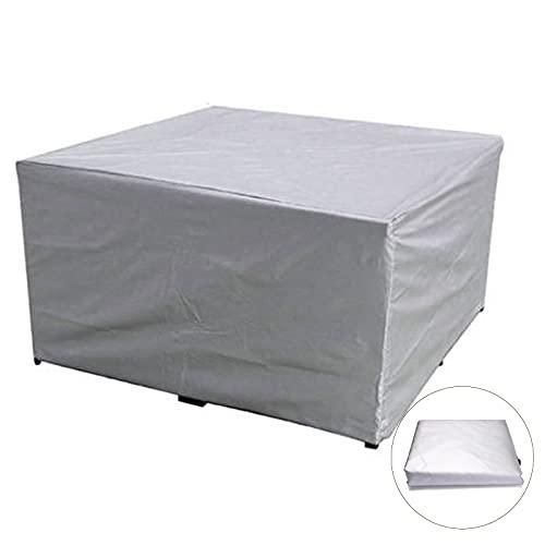 Yadaln Funda Muebles JardíN Cubiert ProteccióN Mesa Muebles Mpermeable Patio al Aire Libre PañO Oxford Prueba Viento Anti-UV Funda Impermeable Exterior Yadlan(Color:140 * 80 * 55 cm)