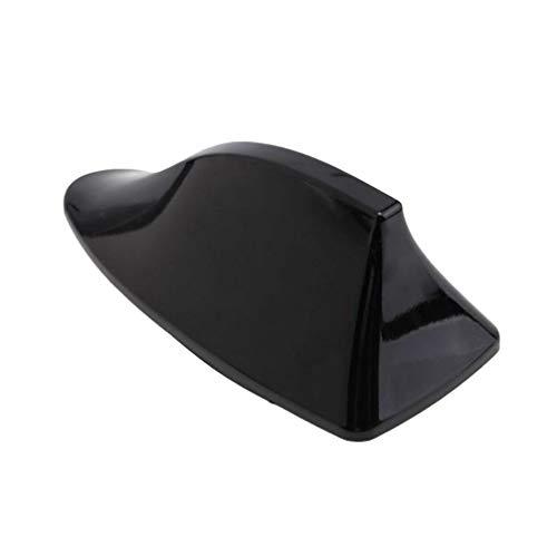 IMIKEYA Auto Antenne Haifischflosse Dachantenne Basis Modifikation Funksignal Antenne Haifischflosse Antennen Autoradio Fit für Nissan Qashqai Skoda Octavia (Schwarz)