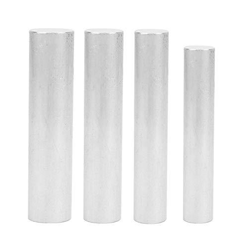 Magnesium-Metallstange, 99,99% hochreiner Magnesiumstab für Elektrotechnik, 16 x 90/18 x 100/20 x 100/22 x 100 mm, 4 Stück