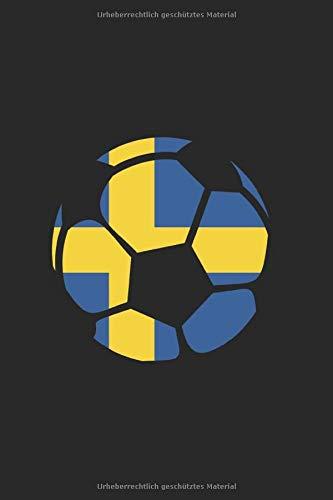 Schweden Fußballfan: Sport und Länder 120 karierte Seiten