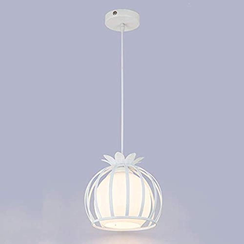 JCM Lampen-Gang-Glas-Kronleuchter-Eisenkronleuchter des modernen unbedeutenden kreativen Lampen-Restaurants des Restaurantleuchters ZJ (Farbe   schwarz-B)