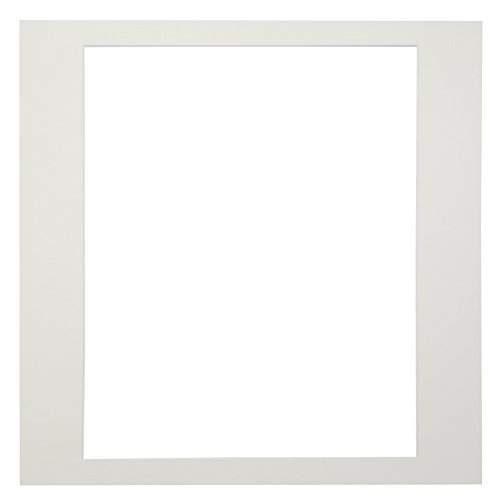Chikuma 写真台紙 カスタム中台紙 A4 4切角 ホワイト 15141-8